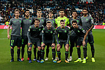 Real Sociedad's team photo during La Liga match between Real Madrid and Real Sociedad at Santiago Bernabeu Stadium in Madrid, Spain. January 06, 2019. (ALTERPHOTOS/A. Perez Meca)<br />  (ALTERPHOTOS/A. Perez Meca)