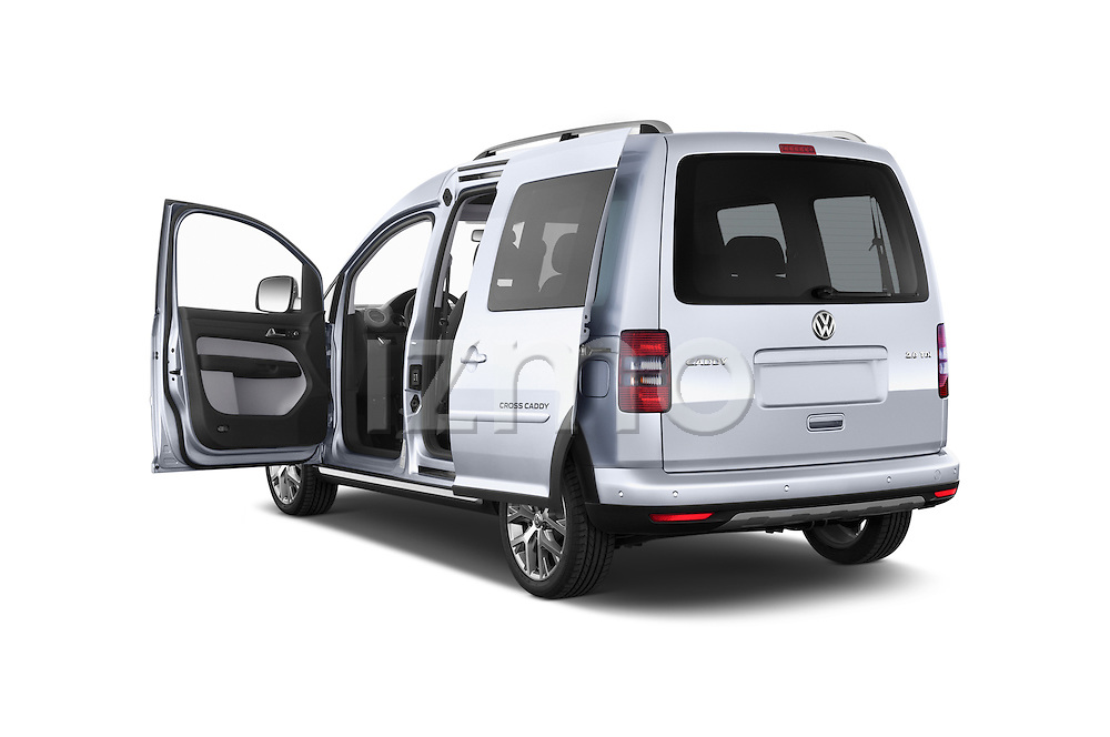 Car images of a 2013 Volkswagen Caddy Cross 5 Door Mini MPV 2WD Doors