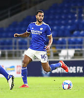 26th December 2020; Cardiff City Stadium, Cardiff, Glamorgan, Wales; English Football League Championship Football, Cardiff City versus Brentford; Curtis Nelson of Cardiff City