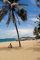 Beach at Nha Trang Vietnam