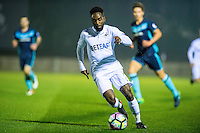 Monday  19 December 2014<br /> Pictured: Nathan Dyer of Swansea City in action <br /> Re: Swansea City U23 v Middlesbrough u23 at the Landore Training Facility, Swansea, Wales, UK