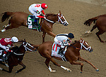 MAY 2, 2014: My Miss Sophia, ridden by Javier Castellano, passes the grand stands for the first time in Kentucky Oaks Stakes at Churchill Downs in Lexington, KY. Jon Durr/ESW/CSM