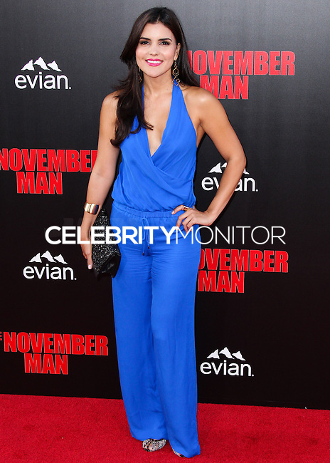 HOLLYWOOD, LOS ANGELES, CA, USA - AUGUST 13: Betsy Landin at the World Premiere Of Relativity Media's 'The November Man' held at the TCL Chinese Theatre on August 13, 2014 in Hollywood, Los Angeles, California, United States. (Photo by Xavier Collin/Celebrity Monitor)