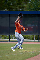 Houston Astros Patrick Mathis (51) during a Minor League Spring Training Intrasquad game on March 28, 2018 at FITTEAM Ballpark of the Palm Beaches in West Palm Beach, Florida.  (Mike Janes/Four Seam Images)