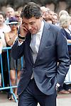 President of the Comunidad de Madrid Ignacio Gonzalez before the bullfight of beneficence. June 3 ,2012. (ALTERPHOTOS/Acero)
