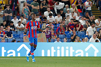 Wilfried Zaha of Crystal Palace shows frustration during the Carabao Cup 2nd round match between Crystal Palace and Colchester United at Selhurst Park, London, England on 27 August 2019. Photo by Carlton Myrie / PRiME Media Images.