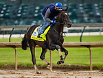 April 29, 2021: Rock Your World gallops in preparation for the Kentucky Derby at Churchill Downs in Louisville, Kentucky on April 29, 2021. EversEclipse Sportswire/CSM