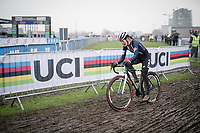 US Champion Clara Honsinger (USA/Cannondale-Cyclocrossworld) <br /> <br /> UCI 2021 Cyclocross World Championships - Ostend, Belgium<br /> <br /> Women's Race<br /> <br /> ©kramon