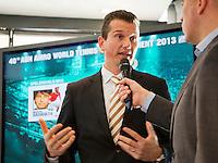 10-01-13,Tennis,  Schipluiden, Restaurant Zwetheul, Persconferentie 40e ABNAMROWTT, Richard Krajicek wordt geïnterviewd door Ruud van Os over de laatste ontwikkelingen rond het 40e ABNAMTOWTT.