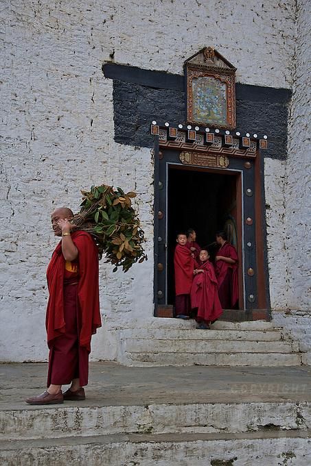 The Trongsa Dzong,(Fort)  Bhutan