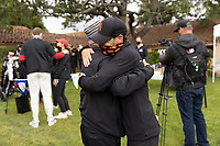 STANFORD, CA - APRIL 25: Justin Silverstein at Stanford Golf Course on April 25, 2021 in Stanford, California.
