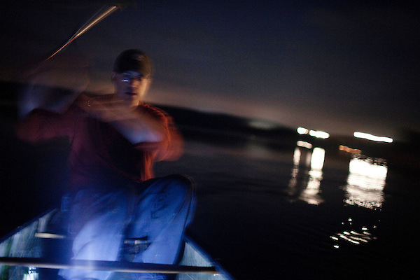 May 19, 2010. Chatham County, North Carolina.. Jug fishing is the art of tieing a baited hook and line to floating milk jugs and dropping the line into the water. After that, you just sit back and wait for the fish to bite, or not..Checking the baits.