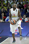 Olympiacos Piraeus' Oliver Lafayette during Euroleague Semifinal match. May 15,2015. (ALTERPHOTOS/Acero)
