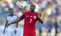 San Pedro Sula, Honduras - Tuesday September 05, 2017: DaMarcus Beasley during a 2017 FIFA World Cup Qualifying (WCQ) round match between the men's national teams of the United States (USA) and Honduras (HON) at Estadio Olímpico Metropolitano.