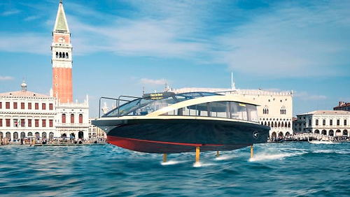 The Candela P-30 is an electric ferry that builds on Candela's technology developed for the leisure boats model C-7