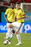 Colombia's Daniel Torres (r) and Oscar Murillo during international friendly match. June 7,2017.(ALTERPHOTOS/Acero) (NortePhoto.com) (NortePhoto.com)