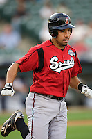 Iribarren, Hernan 4873.jpg. Nashville Sounds at Round Rock Express. August 27th, 2009 at the Dell Diamond in Round Rock, Texas. Photo by Andrew Woolley.
