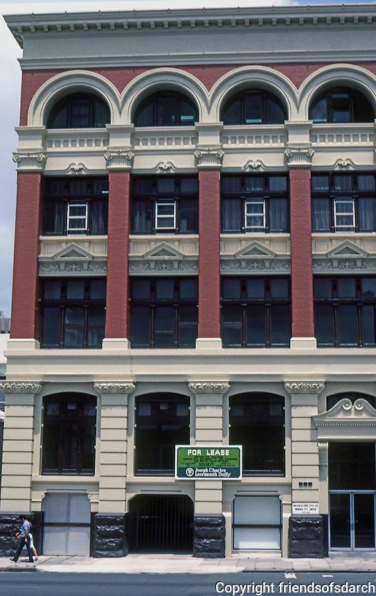 Perth: Romanesque Office Building. Photo '82.