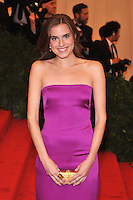 Allison Williams at the 'Schiaparelli And Prada: Impossible Conversations' Costume Institute Gala at the Metropolitan Museum of Art on May 7, 2012 in New York City. ©mpi03/MediaPunch Inc.