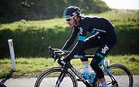Luke Rowe (GBR/SKY)<br /> <br /> Kuurne-Brussel-Kuurne 2016