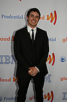 One Life To Live's Brett Claywell wins at the 21st Annual GLAAD Media Awards on March 13, 2010 at the New York Marriott Marquis, New York City, NY. (Photo by Sue Coflin/Max Photos)