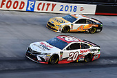 #20: Erik Jones, Joe Gibbs Racing, Toyota Camry Sport Clips and #6: Trevor Bayne, Roush Fenway Racing, Ford Fusion AdvoCare Rehydrate