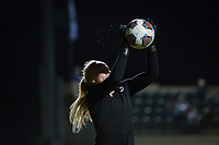 STANFORD, CA - NOVEMBER 22: Stanford, CA - November 22, 2019: Katie Meyer at Laird Q. Cagan Stadium. The Stanford Cardinal defeated Hofstra 4-0 in the second round of the NCAA tournament. during a game between Hofstra and Stanford Soccer W at Laird Q. Cagan on November 22, 2019 in Stanford, California.