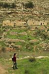 Israel, Jerusalem Mountains, a view of Nahal Kfira