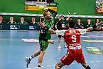 09Christoffer Rambo, n09Pavel Mickal beim Spiel in der Handball Bundesliga, TSV GWD Minden - HSG Nordhorn-Lingen.<br /> <br /> Foto © PIX-Sportfotos *** Foto ist honorarpflichtig! *** Auf Anfrage in hoeherer Qualitaet/Aufloesung. Belegexemplar erbeten. Veroeffentlichung ausschliesslich fuer journalistisch-publizistische Zwecke. For editorial use only.