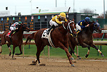 November 27, 2015 Union Jackson (Ricardo Santana Jr.) wins the third race at Churchill Downs, a six and a half furlong allowance for 3 year olds and up. Owner Stonestreet Stables, LLC (Barbara Banke), trainer Steven M. Asmussen. By Curlin x Hot Dixie Chick (Dixie Union) ©Mary M. Meek/ESW/CSM