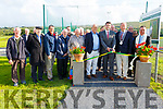 Launching the walkway at John Mitchels on Saturday evening.<br /> L to r: Paddy O'Mahoney, Seamus Roche, Ted Fitzgerald, Rory Kilgallen, Michael Kelliher, Rory Kilgallen Sr, Denis Mannix (Chairman), Minister Brendan Griffin TD, Dan O'Connor, Cllr: Jim Finucane (Mayor of Tralee) and Fr Francis Nolan