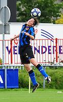 Club Brugge - Standard Femina :  Lore Dezeure.fotografe Joke Vuylsteke - vrouwenteam.be