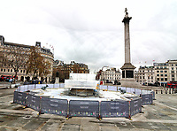 NOV 25 Trafalgar Square gets some TLC