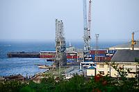 TANZANIA Tanga, port/ TANSANIA Tanga, Hafen
