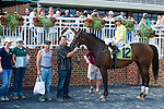 19 June 2010: Lady Rizzi and Alan Garcia win the Buckland Stakes race at Colonial Downs in New Kent, Va. Lady Rizzi is owned by Benchmark Racing Stable, trained by Linda Rice