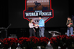 Taylor Cuccurullo during the Break Away and Tie Down Roping Back Number presentation at the Junior World Finals. Photo by Andy Watson. Written permission must be obtained to use this photo in any manner.