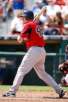 July 30, 2009:  Center Fielder Brian Anderson of the Pawtucket Red Sox during a game at Coca-Cola Field in Buffalo, NY.  Pawtucket is the International League Triple-A affiliate of the Boston Red Sox.  Photo By Mike Janes/Four Seam Images