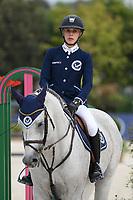 10th September 2021; Circo Massimo Stadium Rome, Italy; Longines Global Equestrian Champions Tour:  Laura Klaphake