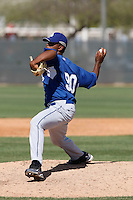 Beyker Fructuoso - Los Angeles Dodgers - 2009 spring training.Photo by:  Bill Mitchell/Four Seam Images