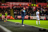 Manager Paul Clement during the Premier League match between Swansea City and Southampton at The Liberty Stadium, Swansea, Wales, UK. Tuesday 31 January 2017