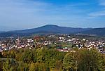 DEU, Deutschland, Bayern, Niederbayern, Naturpark Bayerischer Wald, Zwiesel vorm Falkenstein   DEU, Germany, Bavaria, Lower-Bavaria, Nature Park Bavarian Forest, Zwiesel and Falkenstein mountain
