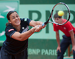 Marion Bartoli (FRA) loses before a home crowd at Roland Garros in Paris, France on May 30, 2012