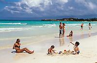Cuba, Strand auf Cayo Coco, Archipielago de Camagüey, Provinz Ciego de Avila