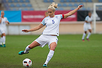 England's Steph Houghton during the frendly match between woman teams of  Spain and England at Fernando Escartin Stadium in Guadalajara, Spain. October 25, 2016. (ALTERPHOTOS/Rodrigo Jimenez) /NORTEPHOTO.COM