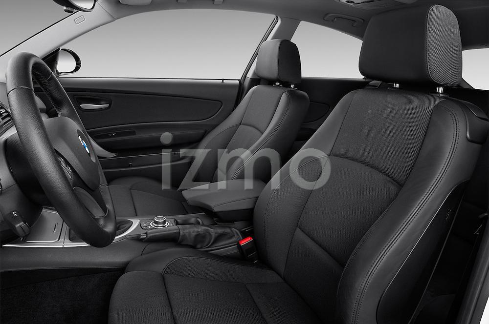 Front seat view of a 2007 - 2011 BMW 1-Series 123d 3 Door Hatchback 2WD.