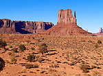 Monument Valley (East Mitten Butte)  - Goulding - Arizona/Utah border - USA
