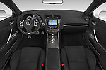 Stock photo of straight dashboard view of 2015 Lexus IS 350C 2 Door Coupe Dashboard