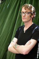 Patrick deWitt was born on Vancouver Island in 1975. He has also lived in California, Washington, and Oregon, where he currently lives with his wife and son. He is the author of two novels, Ablutions and The Sisters Brothers. Roma, maggio 2012. © Leonardo Cendamo