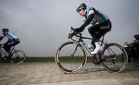 Paris-Roubaix 2013 RECON..Sylvain Chavanel (FRA)
