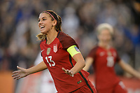 San Diego, Ca - Sunday, January 21, 2018: Alex Morgan during a USWNT 5-1 victory over Denmark at SDCCU Stadium.